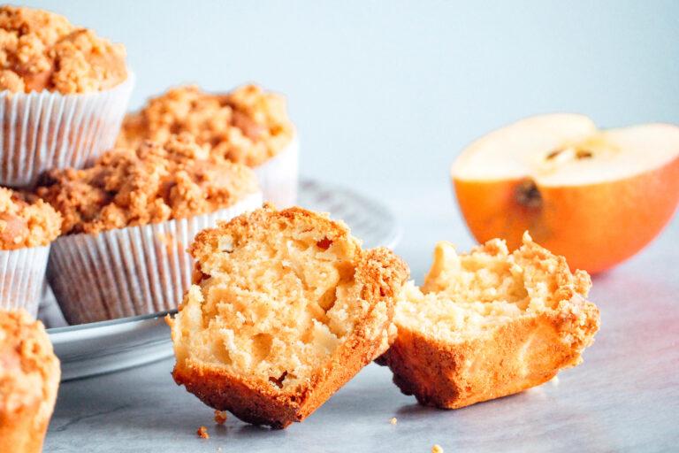 Apfelmuffins mit Streuseln-glutenfrei-laktosefrei