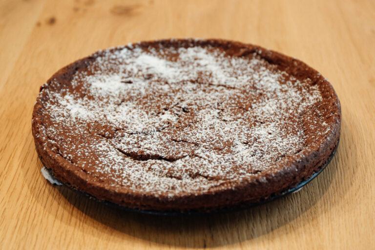 Schwedischer Schokoladen-Brownie (Kladdkaka)-glutenfrei-laktosefrei